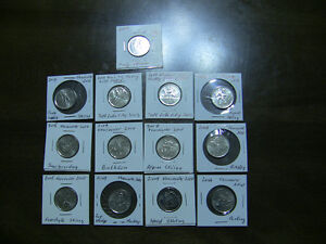 Canada Olympic Coins Set