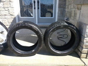 Pair of Pirelli Cinturato P7 225/45/R17 94H M+S tires