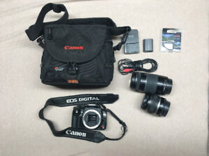 Cannon Reble XT ESO digital T5i (case and 75x included)