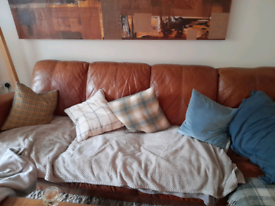 3seater plus chaise..quick sale due to upgrade..