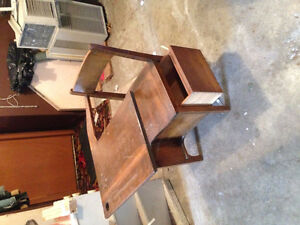 antique wooden desk (50+ years old)