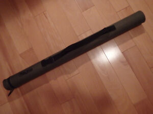 "WHITE RIVER FLY FISHING ROD TUBE 30"" 30 INCHES LONG with STRAP"