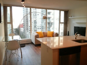 Bright, furnished 1 Bdrm in Yaletown
