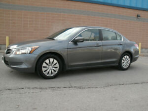2010 Honda Accord  LX : 4 Cylinder, Auto, 1 Owner, Drives Great!