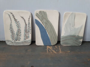 Handpainted pottery pieces