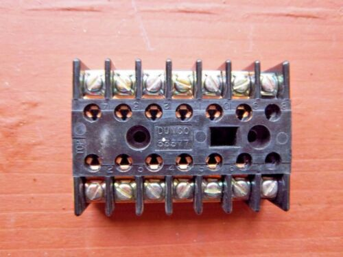 Struthers-Dunn 33377 Dunco Wired Relay Base Socket 14-Pin - Free Shipping