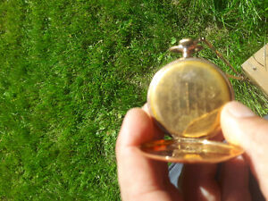 14 k gold pocket watch 1957.