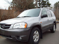 2004 Mazda Tribute ES SUV, 4X4,LEATHER,SUNROOF,LOADED,CERT,$4975