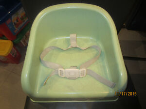 Siège d'appoint vert /Booster seat