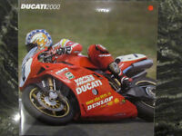 DUCATI 2000 FULL LINE BROCHURE CATALOG + PRICE GUIDE