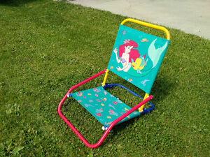 LITTLE MERMAID CHAIR - USE AT HOME - TAKE TO THE GAME