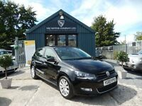Volkswagen Polo 1.6 TDI SEL 90PS (black) 2010