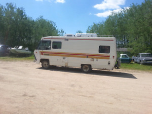 1977 Cochman motor home had leak needs interior work t