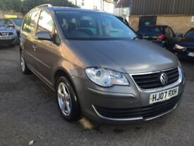 Volkswagen Touran 1.9 TDI SE 5dr (5 Seats)£3,895 cambelt changed , one owner