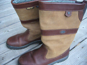 DUBARRY KILDARE WOMENS LEATHER BOOTS