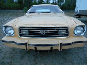 NEAR MINT 1977 MUSTANG   SENIOR OWNED