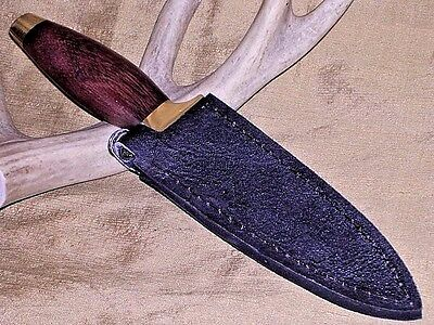 Quick Draw Western Style Hunting Boot Knife Dagger W  Boots Clip Sheath 9