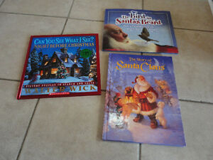 LOT OF 3 CHRISTMAS THEMED BOOKS CAN YOU SEE WHAT I SEE THE BIRD
