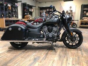 2018 Indian Motorcycle Springfield Dark Horse ABS Thunder Black