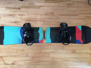 Great All-Mountain Snowboard Set $350