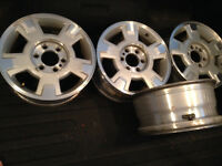 Ford 17 inch 6 bolt OEM alloy rims
