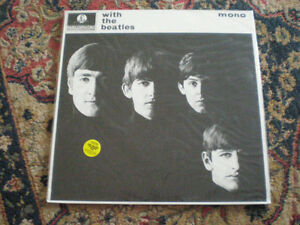 THE BEATLES-LP-MONO-WITH THE BEATLES-PMC 1206-UK-SEALED
