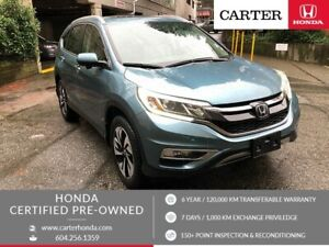 2015 Honda CR-V Touring + CERTIFIED + MANAGERS SPECIAL!
