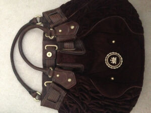 Authentic Juicy Couture brown purse bag