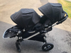 Baby Jogger City Select double stroller with car seat adaptor