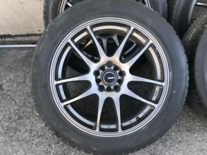 4 mags 18po avec pneus d'été