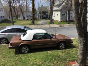 1983 mustang convertable