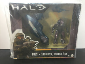 """Halo 6"""" Ghost Vehicle & Elite Officer"""