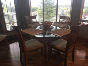 Kitchen table and Chaira