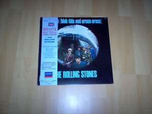 lp by the Rolling Stones reduce price 20$ Gatineau Ottawa / Gatineau Area image 1