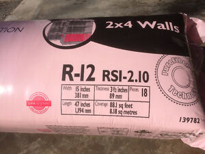 Owens Corning Pink Fiberglass Insulation for sale