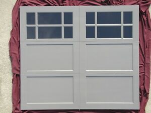 Wooden 8X7 garage door Kitchener / Waterloo Kitchener Area image 1