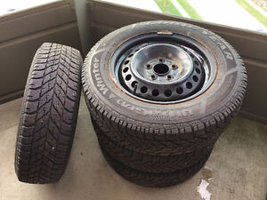 205/65/15 Winter tires with rims
