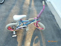 Girls 14 inch moonrider with trainers