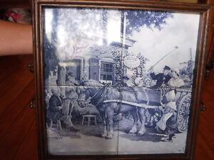 Antique Dutch Tray