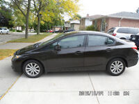 2013 Honda Civic EX Sedan **ONLY 33,000 km**
