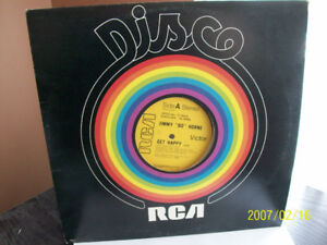 """Disque vinyle, 33 T. Jimmy """"Bo"""" Horne, Get Happy, Gimme-Some..."""
