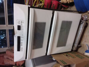 Built-in KitchenAid microwave and convection oven