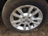 """Fiat doblo/ punto alloy wheels 15"""""""