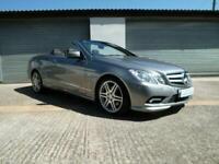 2010 Mercedes-Benz E Class E250 CGI BlueEFFICIENCY Sport 2dr Tip Auto CONVERTIBL