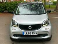 2016 66 Silver SMART 4FOUR Prime Premium 5 Dr Hatch Full Nav Leather Seats 0 TAX