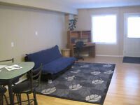 1 bedroom furnished suite, close to downtown, utilities included