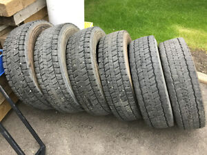 """19.5"""" Continental HDR Tires"""
