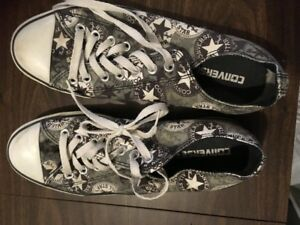Converse running shoes - black and white
