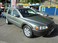 2007 07 VOLVO XC70 2.4 D5 SE 4X4 MANUAL IN WILLOW GREEN # 12 SERVICE STAMPS #