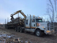 Looking for Truck Drivers & Owner Operators to haul Logs